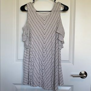 Maurices Cold Shoulder Tee